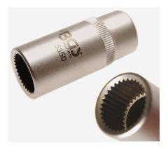 Douille spéciale 33 dents pour pompe injection Mercedes