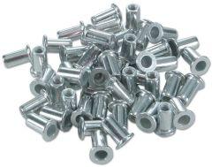 Lot de 50 inserts aluminium M5