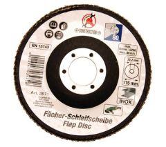 Disque meulage à lamelles 115 mm / 22.2 mm / grain 80