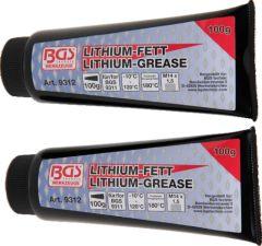 2 tubes de graisse lithium pour mini-pompe 9311