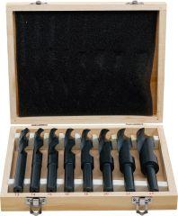 Jeu de mèches HSS 13 - 25 mm 8 pièces