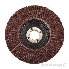 Disque à lamelles corindon 100 mm grain 80