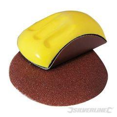 Cale ergonomique plastique alvéolaire + 3 disques auto-agrippants