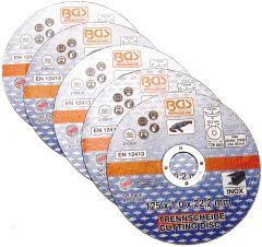 1 disque à tronçonner le métal 125 mm x 22.2 mm x 1 mm