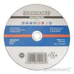 Disque à tronçonner le métal certifié OSA 230 x 2 x 22,23 mm