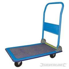 Chariot plateforme pliant, capacité 150 kg