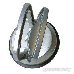 Ventouse simple en aluminium, force 50 kg