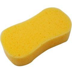 Grande éponge pour le lavage auto 23 x 11 x 6 cm jaune