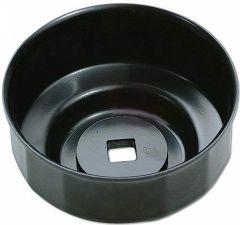 """Cloche filtre à huile 76 mm 14 pans empreinte 3/8"""""""