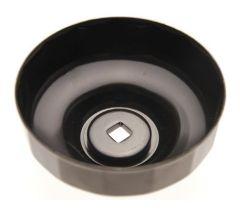 Cloche de filtre à huile diamètre 108 mm / 18 pans / empreinte 3/8