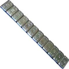 Barrette de plombs adhésifs noire équilibrage roue jante alu
