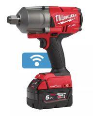 Milwaukee M18 Fuel™ Boulonneuse ¾″ connecté, brushless desserage 2034NM (200KNM) - 2 x 5Ah 18v + chargeur rapide