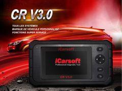 Valise de diagnostic OBD2 iCarsoft CR V3 3 groupes de marques au choix, en Français, connectable en wifi