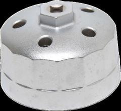 Clé à filtres cloches 15 pans Ø 90,2 mm pour Land Rover