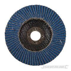 Disque à lamelles en zirconium 100 mm grain 60