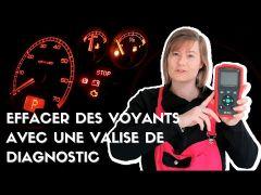 Mini Valise de diagnostic OBD2 Toutes marques en Français