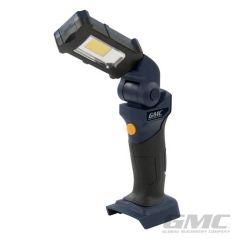 Lampe de travail à tête pivotante 18 V sans batterie