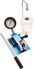 Pompe à tarer les injecteurs diesel avec récupération des vapeurs